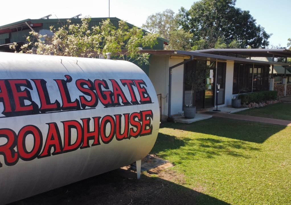 Hell's Gate Roadhouse front
